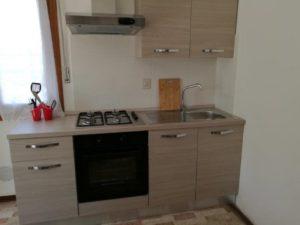 Big three-room apartment kitchen