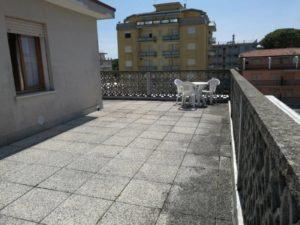 Big three-room apartment terrace