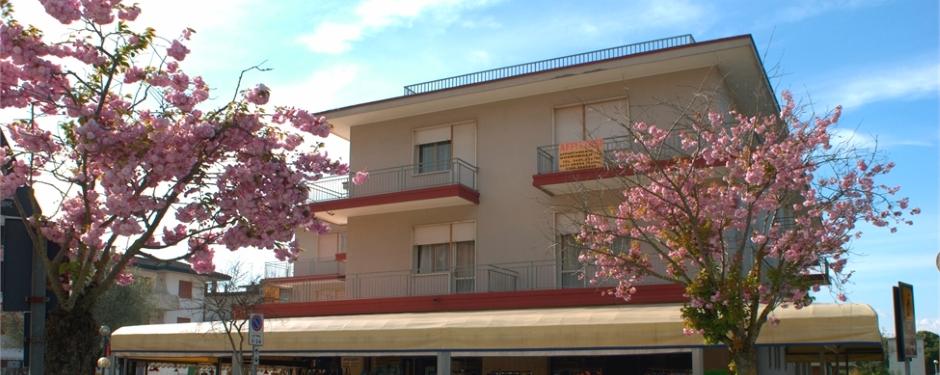 Vista del Residence Condominio Roma