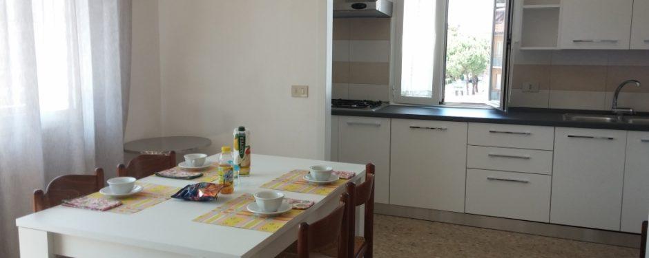 Cucina del bilocale grande