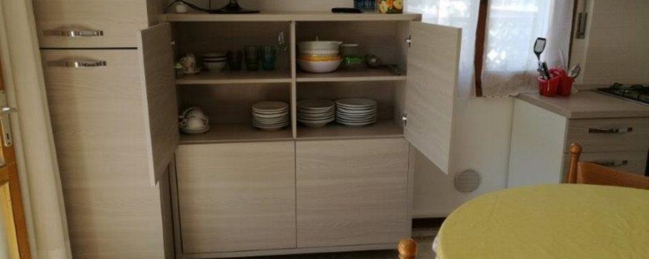 Cucina del trilocale piccolo